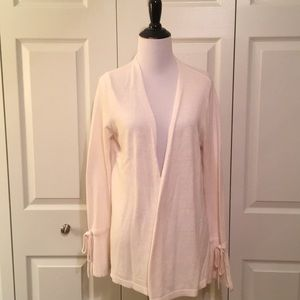 LOFT Outlet ivory bell sleeve sweater size M NWT